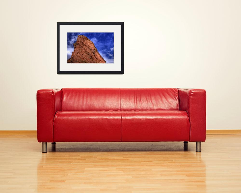 """""""Red Rocks Sky&quot  (2006) by scingram"""