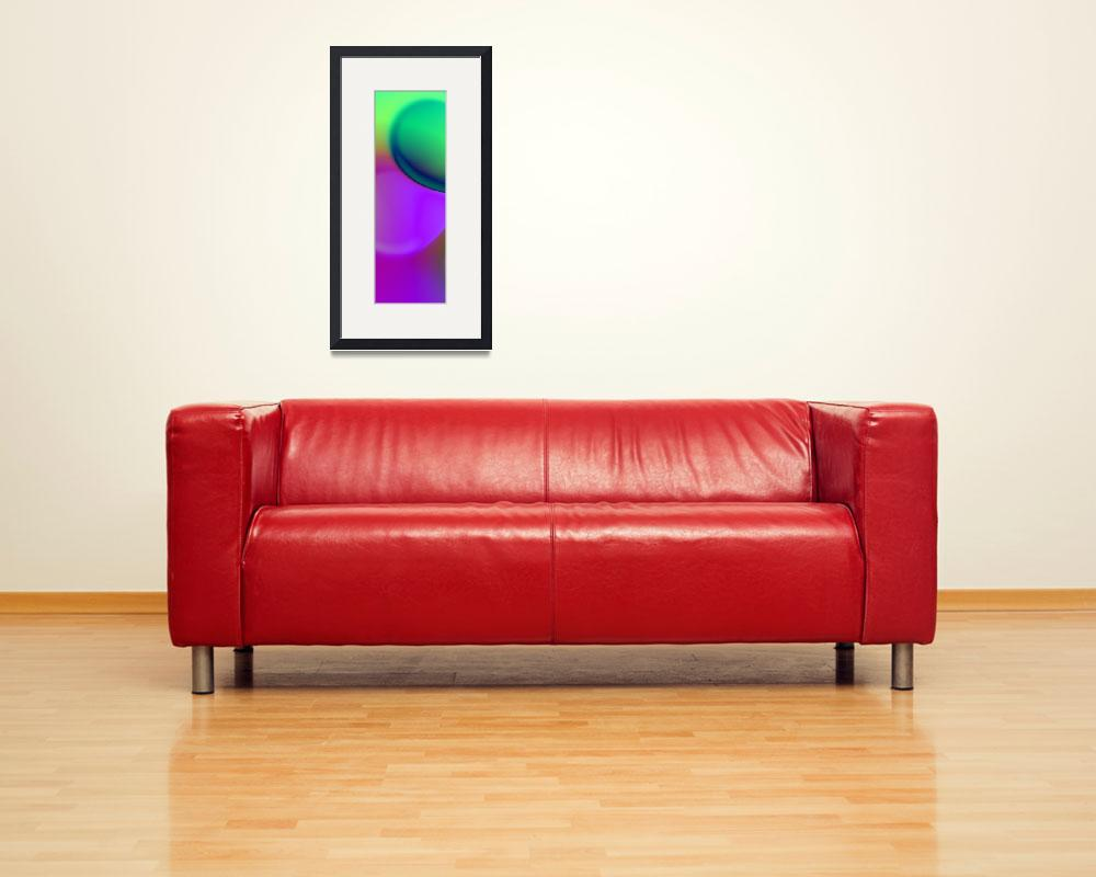 """""""the sound of colors triptych left&quot  (2017) by issabild"""
