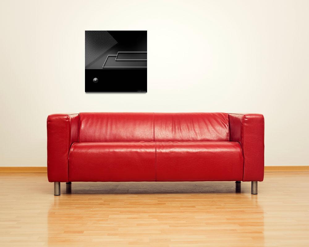 """black wallpaper 5""  (2012) by edpeny"