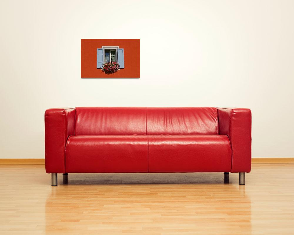 """""""One Window In A Red Wall&quot  (2008) by tommyrey"""