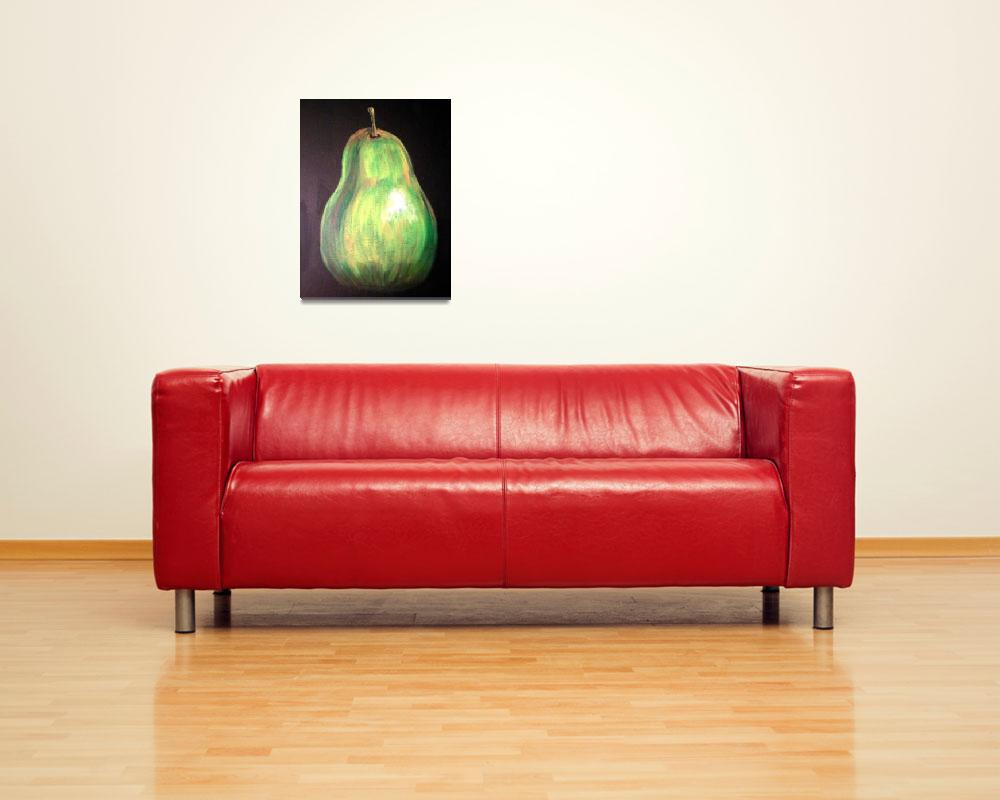 """Pear&quot  (2008) by arteest"
