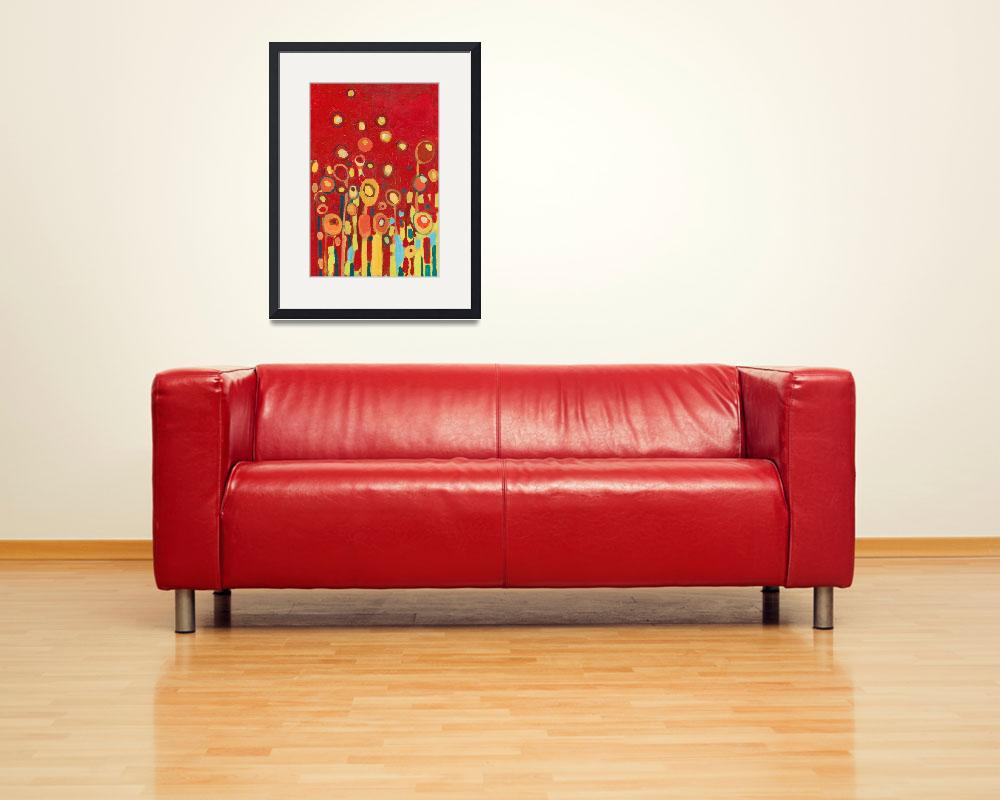"""""""Growing in Red No 2&quot  (2009) by JENLO"""