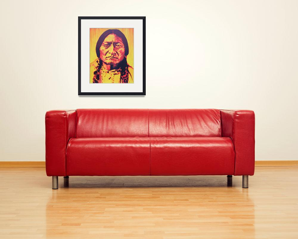 """""""Sitting Bull&quot  (2009) by josee"""