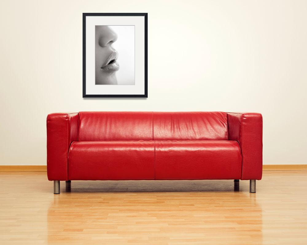 """""""sensual lips""""  (2012) by photoplace"""