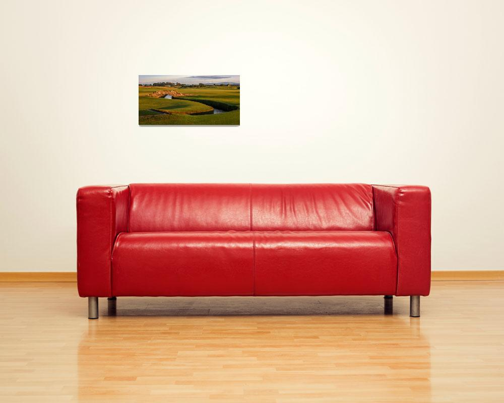 """""""St. Andrews Links Golf Course Swilcan Bridge 2&quot  (2004) by Richimage"""