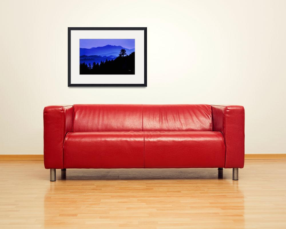 """Blue Horizon--formatted for Gallery Wrap&quot  (2006) by DigiPix"