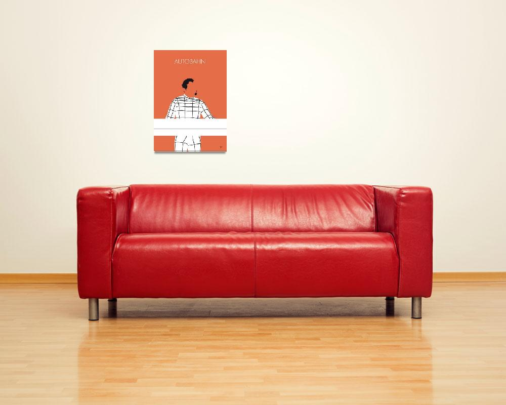 """No063 MY KRAFTWERK Minimal Music poster""  by Chungkong"