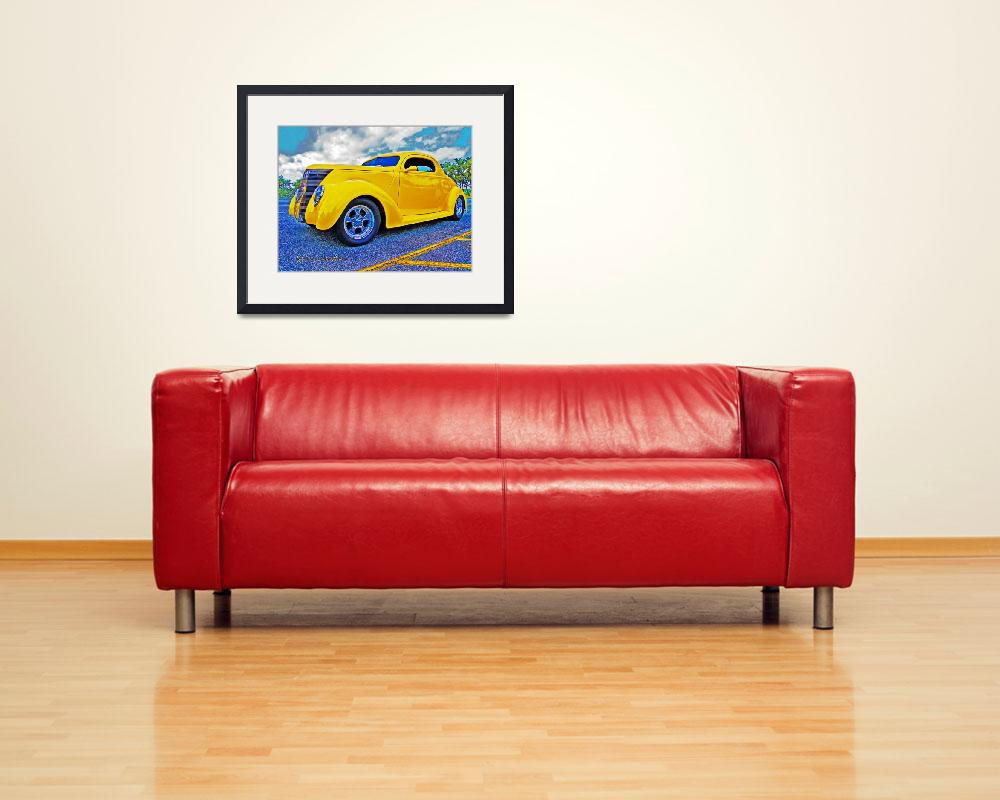 """""""Yellow Coupe""""  (2011) by chassinklier"""