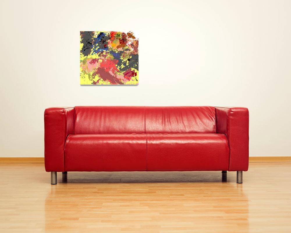 """FINE ART DIGITAL PRINT Palette2012-Digital-3c&quot  by grl"