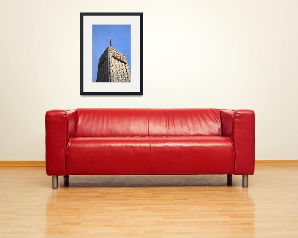 """""""Minneapolis Tower&quot  (2010) by Ffooter"""
