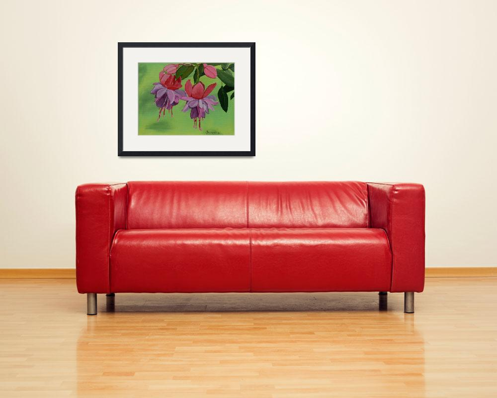 """""""Fuchsia&quot  (2008) by anthonydunphy"""