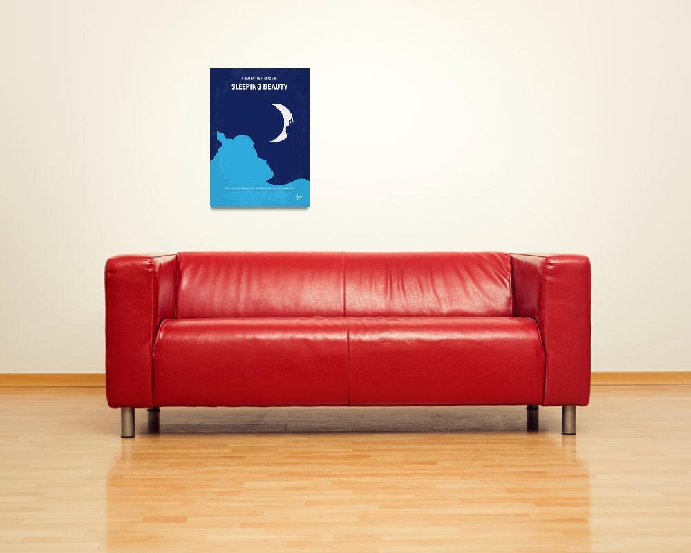 """No1017 My Sleeping Beauty minimal movie poster""  by Chungkong"