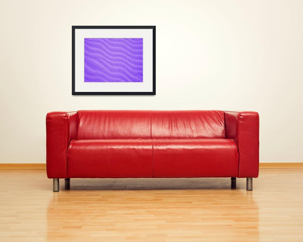 """""""Purple Sand&quot  (2010) by indiannes"""