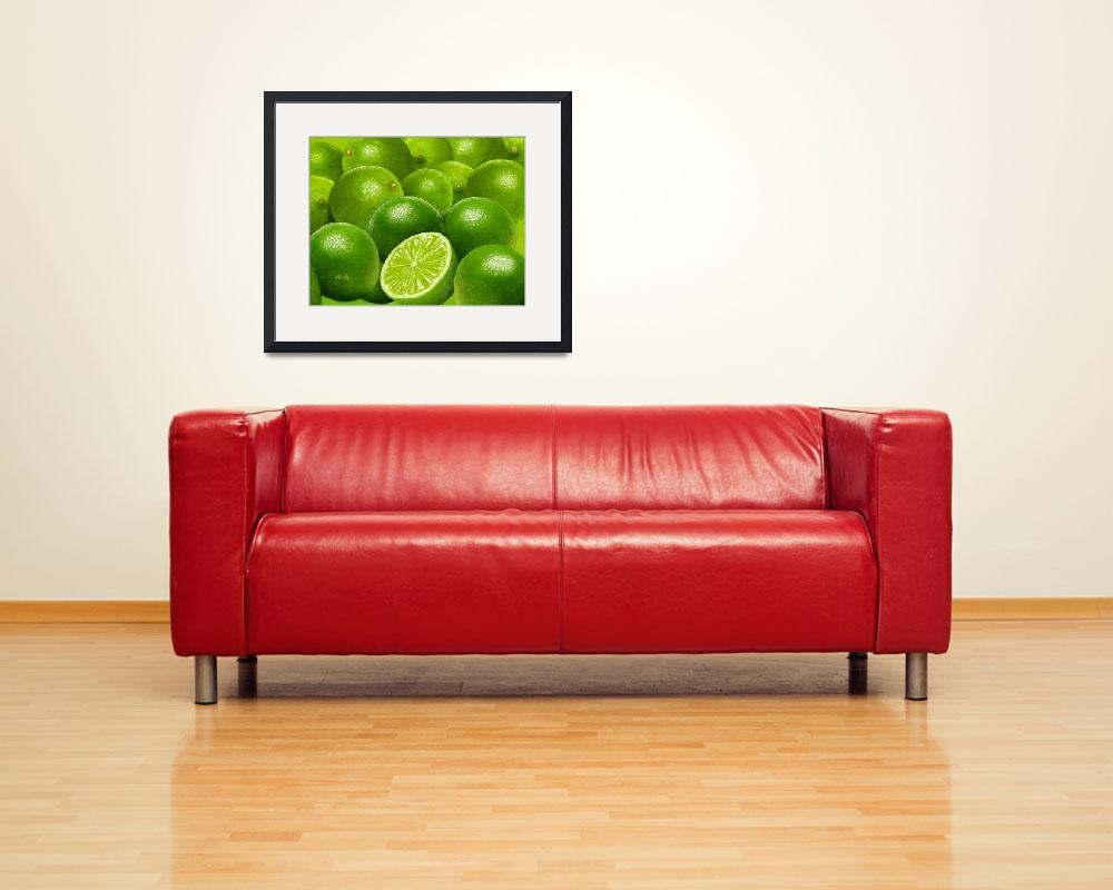 """""""Celebration in Lime Green&quot  by Tim"""
