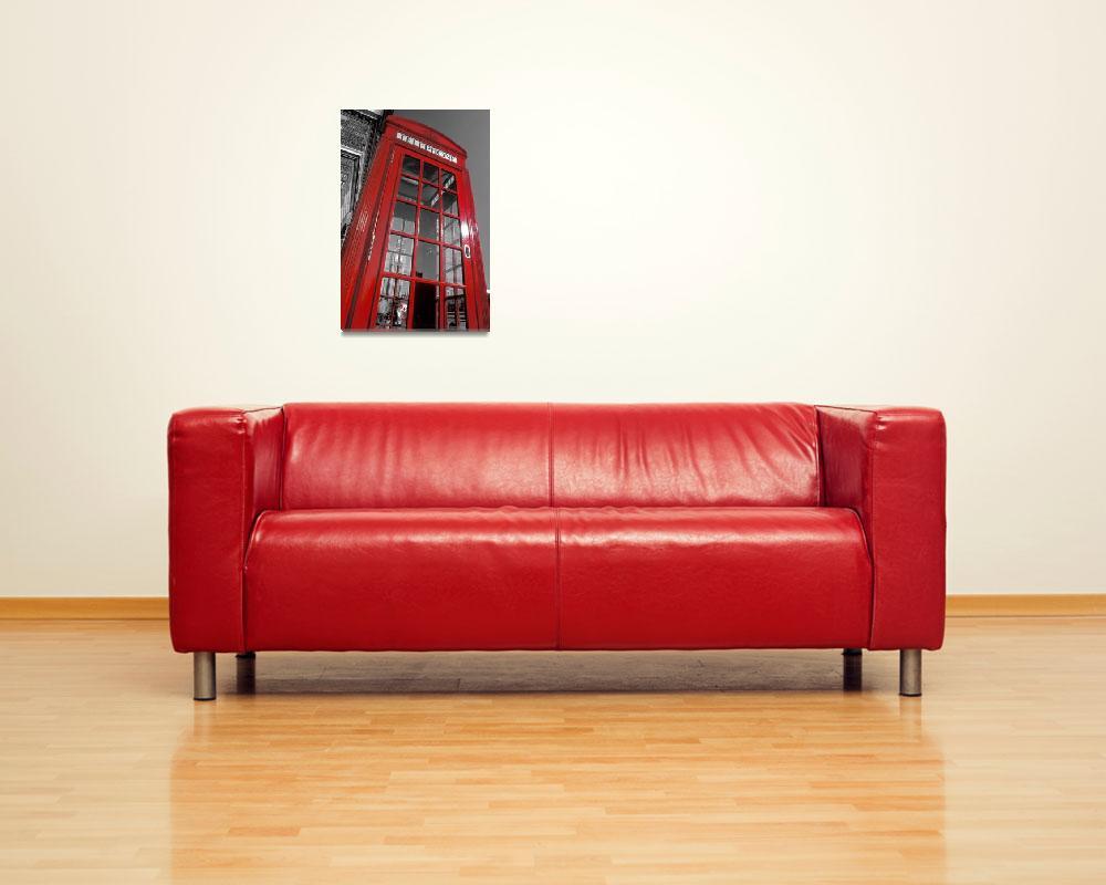 """London. Phone Box and Big Ben (2008 © Alan Copson)&quot  (2008) by AlanCopson"