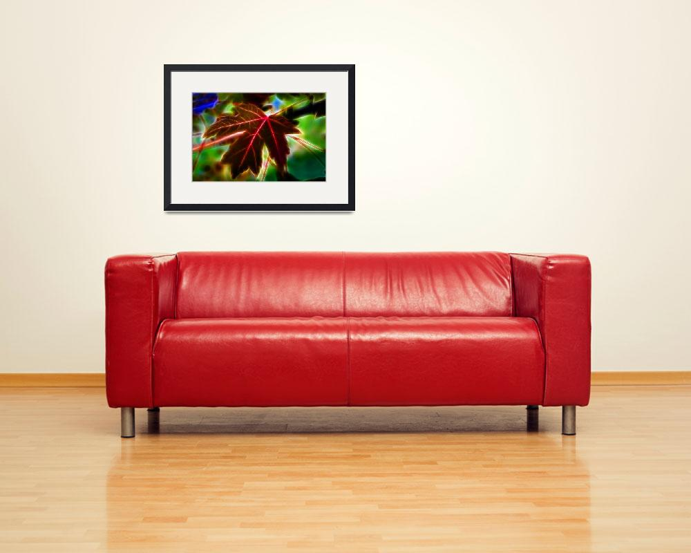 """""""Leaf Red&quot  (2011) by edgabel"""