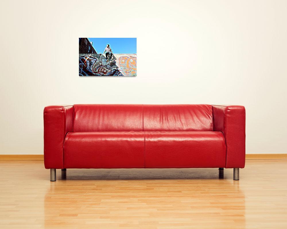 """Life is a Mural""  (2010) by GlennMcDaniel"