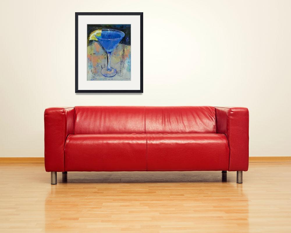 """Royal Blue Martini&quot  by creese"