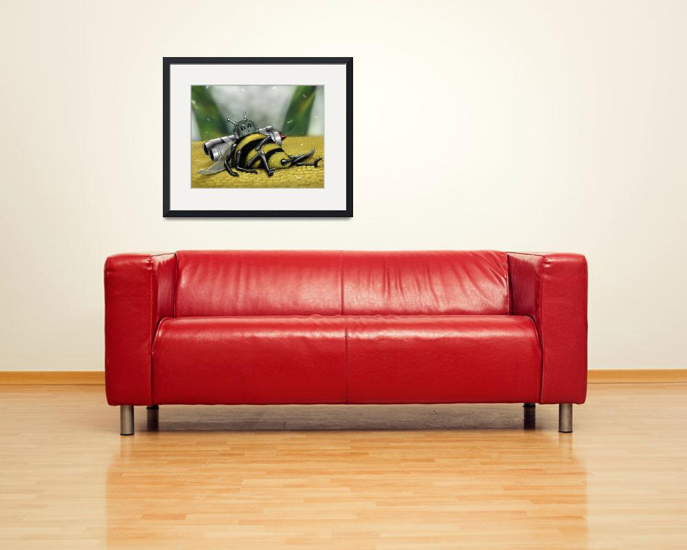 """""""Tub-Bee&quot  (2011) by clifflambert"""