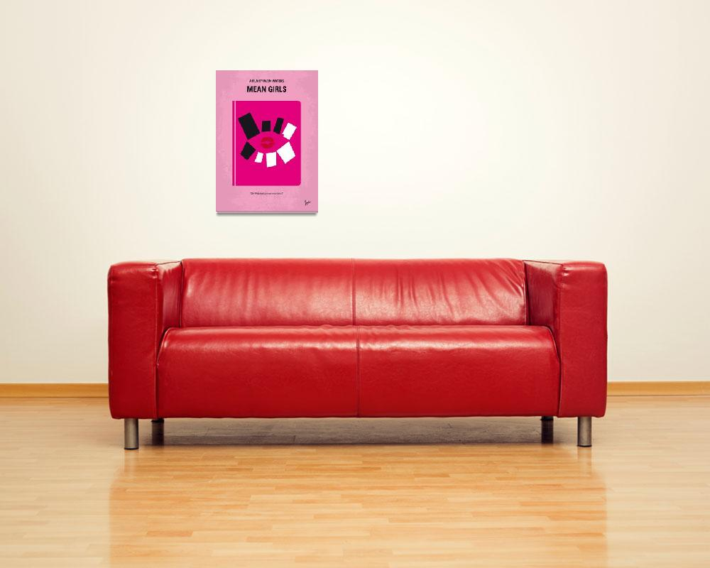 """""""No458 My Mean Girls minimal movie poster&quot  by Chungkong"""