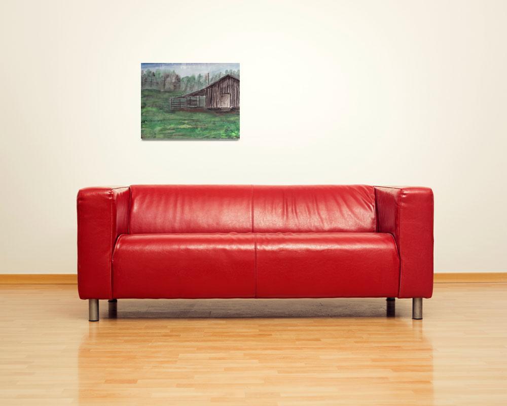"""""""papas barn""""  (2001) by derekmccrea"""