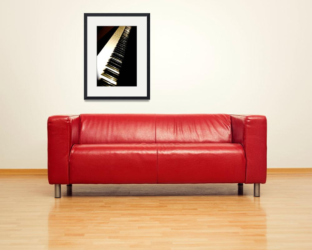 """""""Piano&quot  (2008) by kateheinen"""