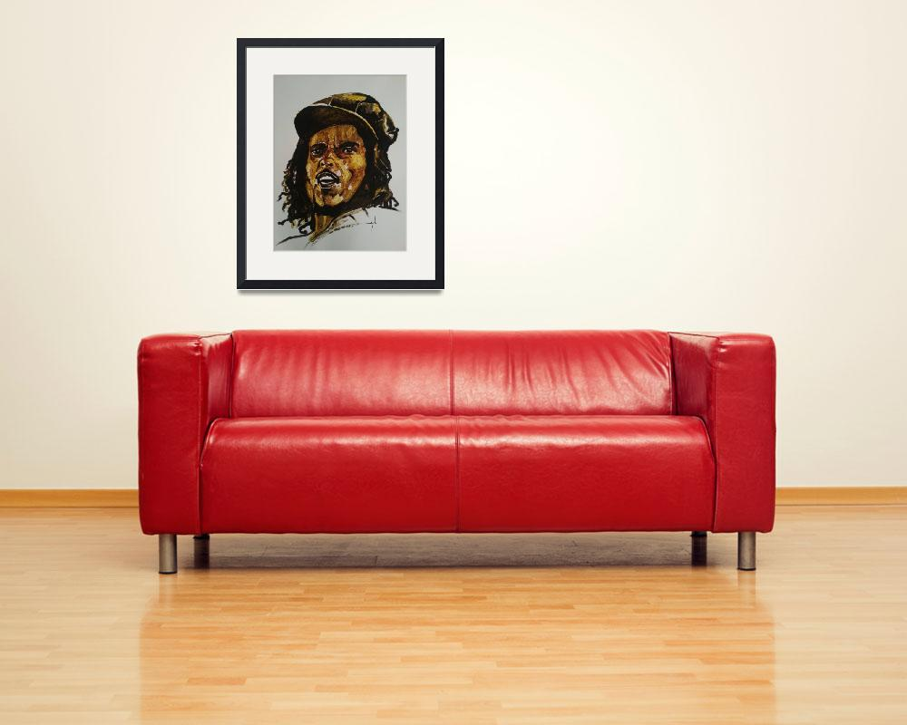 """Bob Marley&quot  (2013) by AllPointsBulletin"