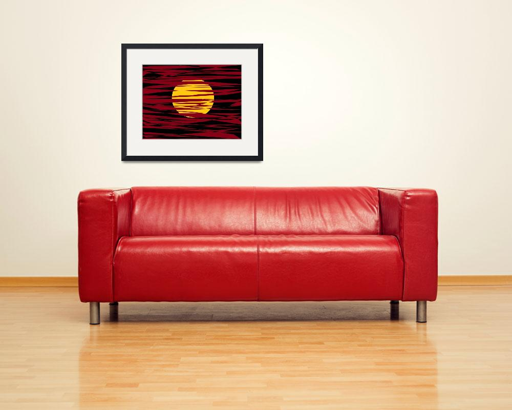 """RED YELLOW  BLACK""  (2012) by Tronagallery"