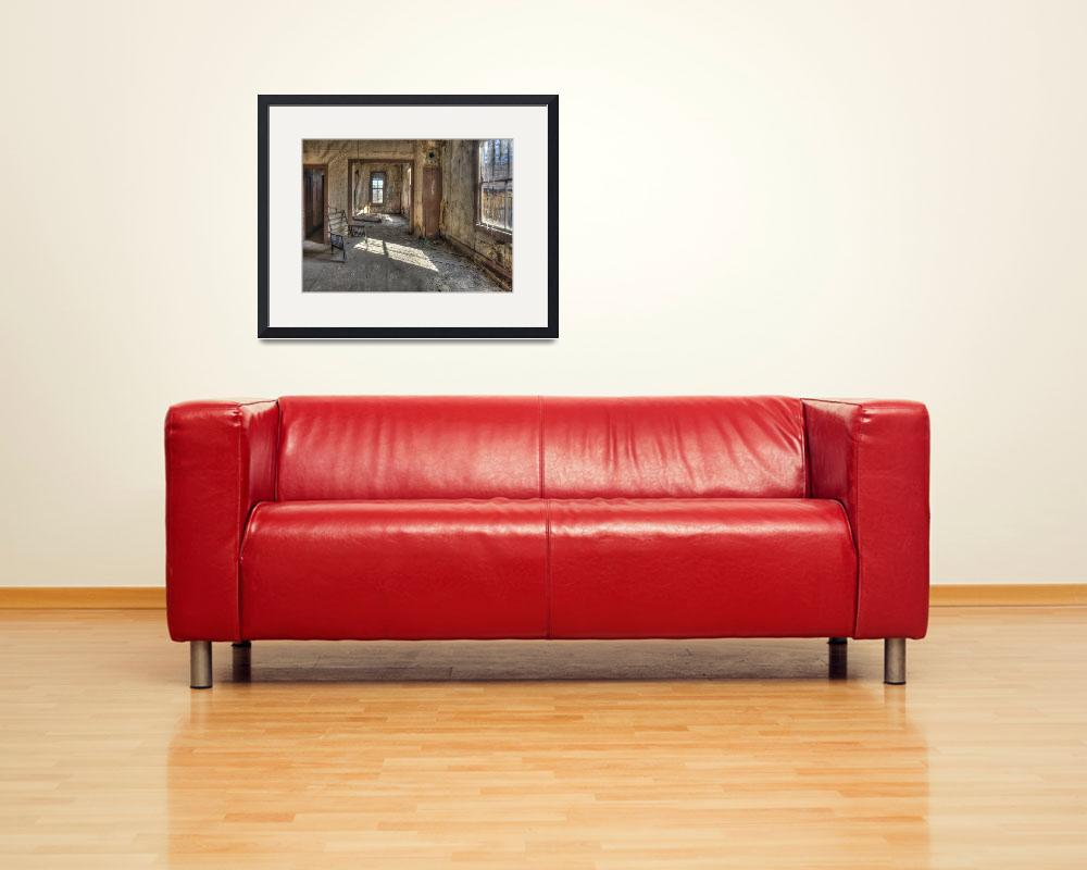 """""""Abandoned Bodie Living Room&quot  (2014) by SederquistPhotography"""