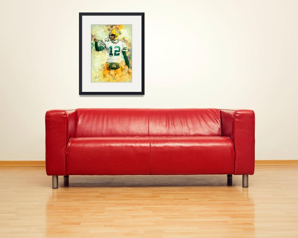 """""""Aaron Rodgers&quot  (2018) by taylansoyturk"""