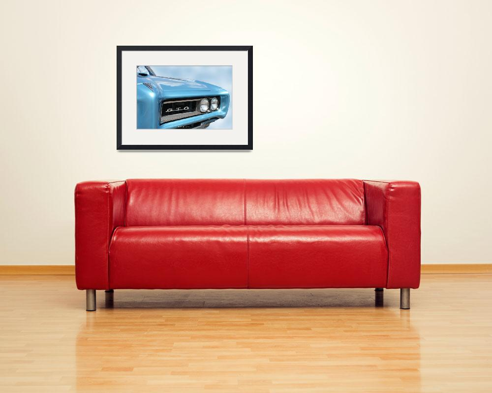 """1968 Pontiac GTO&quot  (2011) by bettynorthcutt"