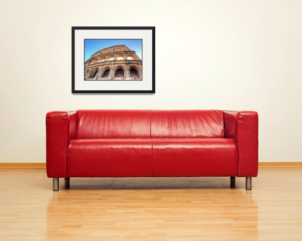 """ROMAN COLOSSEUM""  (2012) by JCJones"