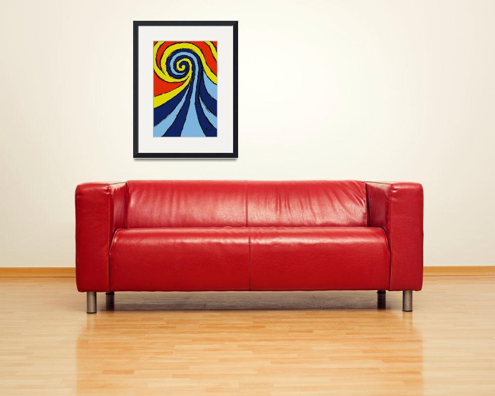 """""""wave""""  (2012) by surfprints"""