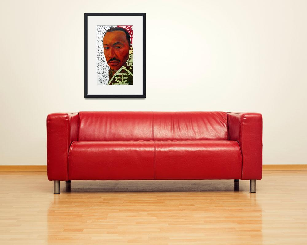 """Martin Luther King""  (2007) by centurymountain"