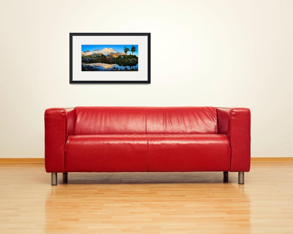 """""""Mount Baker Panorama&quot  (2009) by Inge-Johnsson"""