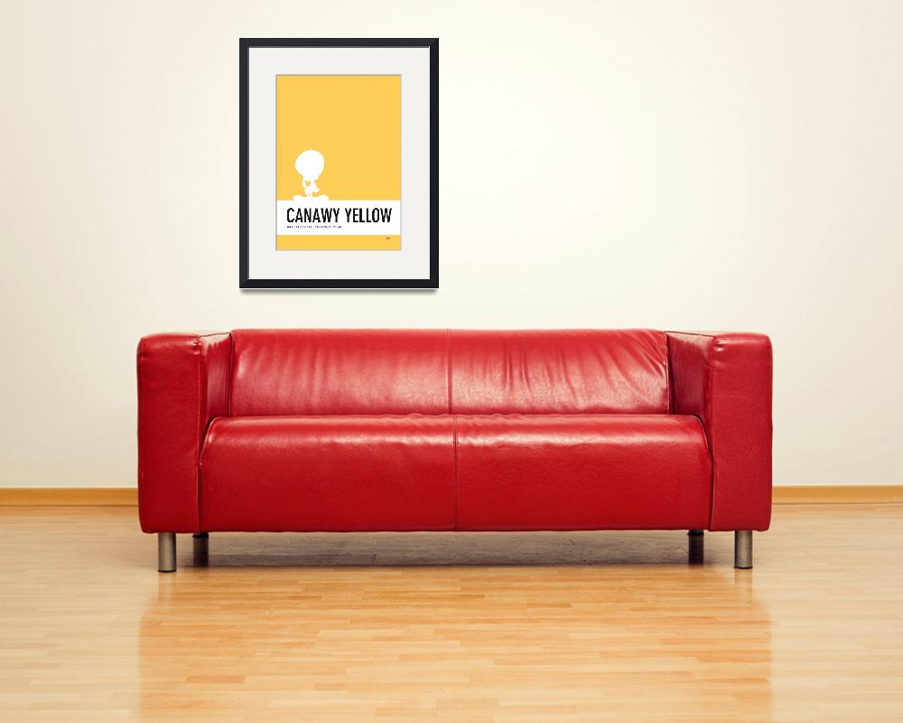 """No18 My Minimal Color Code poster tweety&quot  by Chungkong"
