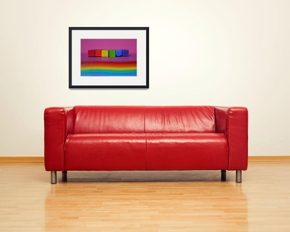 """""""Waves of colour""""  (2009) by RosieHillman"""