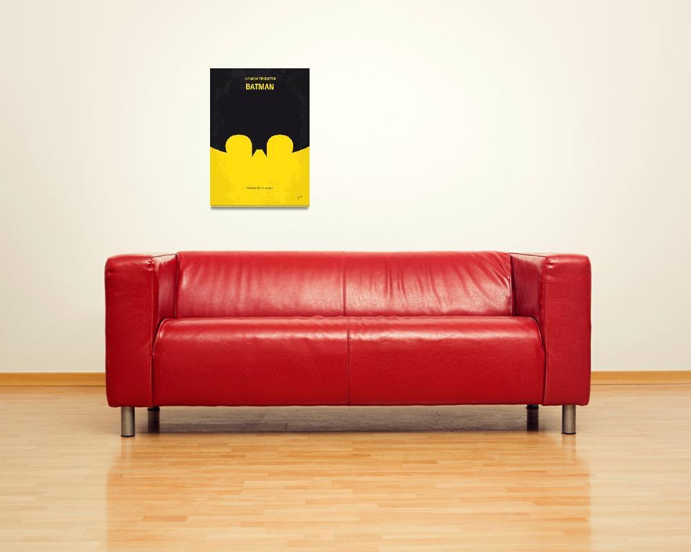 """""""No008 My Batman minimal movie poster&quot  by Chungkong"""