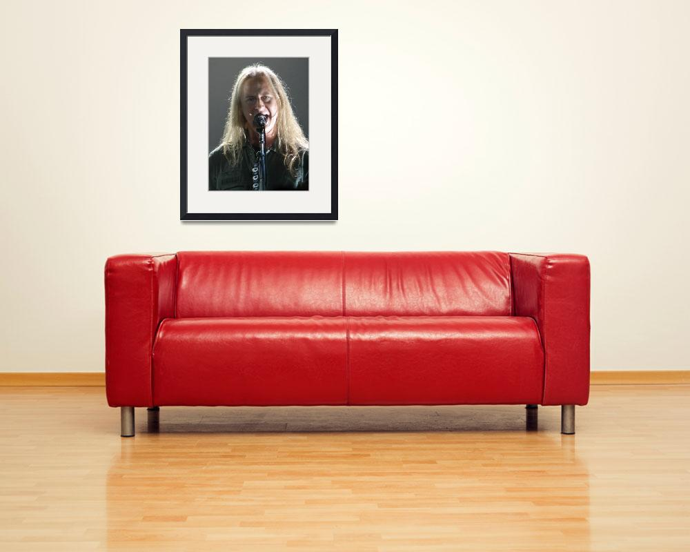 """""""Jerry Cantrell of Alice in Chains&quot  (2011) by robvena"""