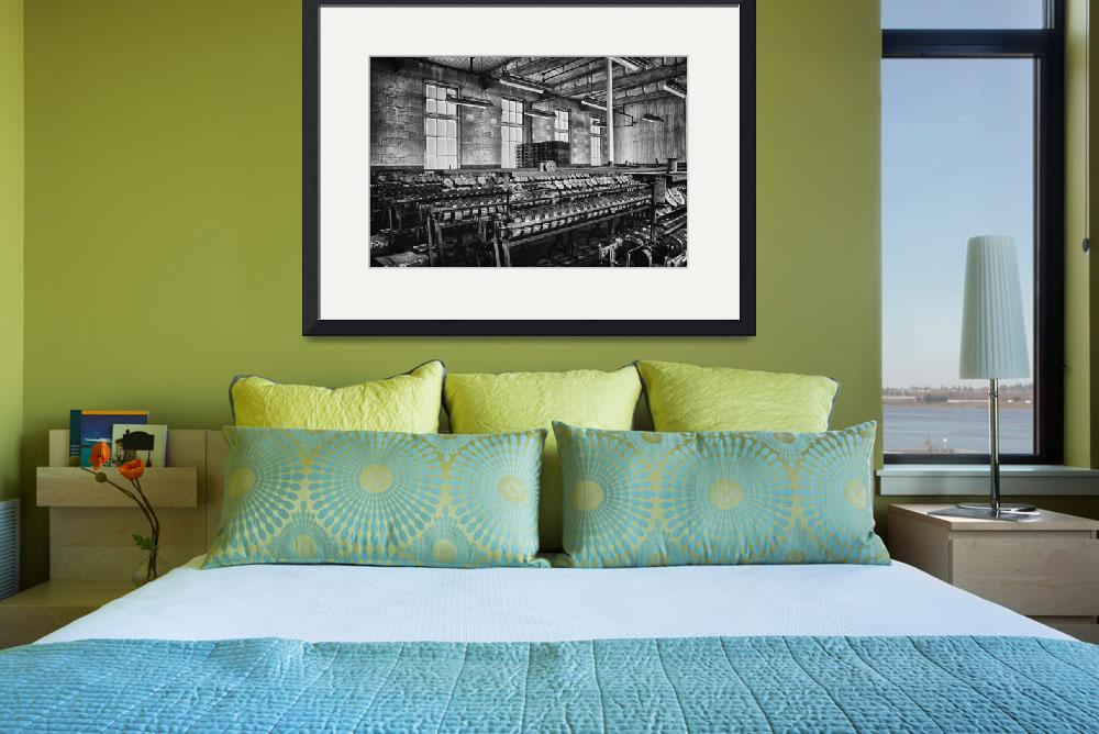 """""""Abandoned Silk Mill&quot  (2014) by FotosbyCindy"""