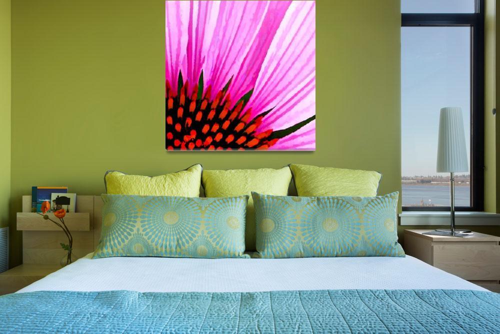 """""""Macro Floral Abstract""""  (2011) by waynelogan"""