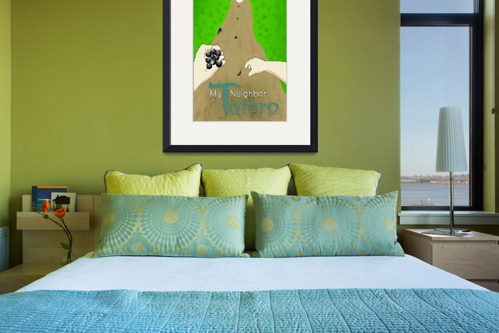 """""""My Neighbor Totoro Poster #2&quot  (2012) by corysmithphotography"""