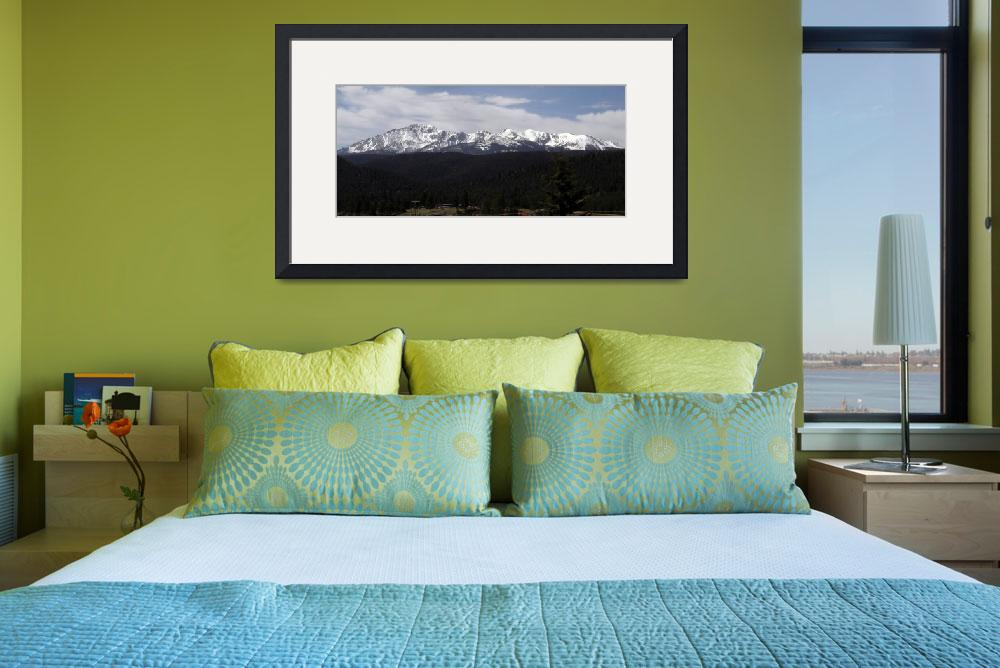 """Pikes Peak, Colorado&quot  by Artsart"