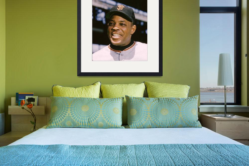 """""""Say Hey Willie Mays&quot  by RetroImagesArchive"""