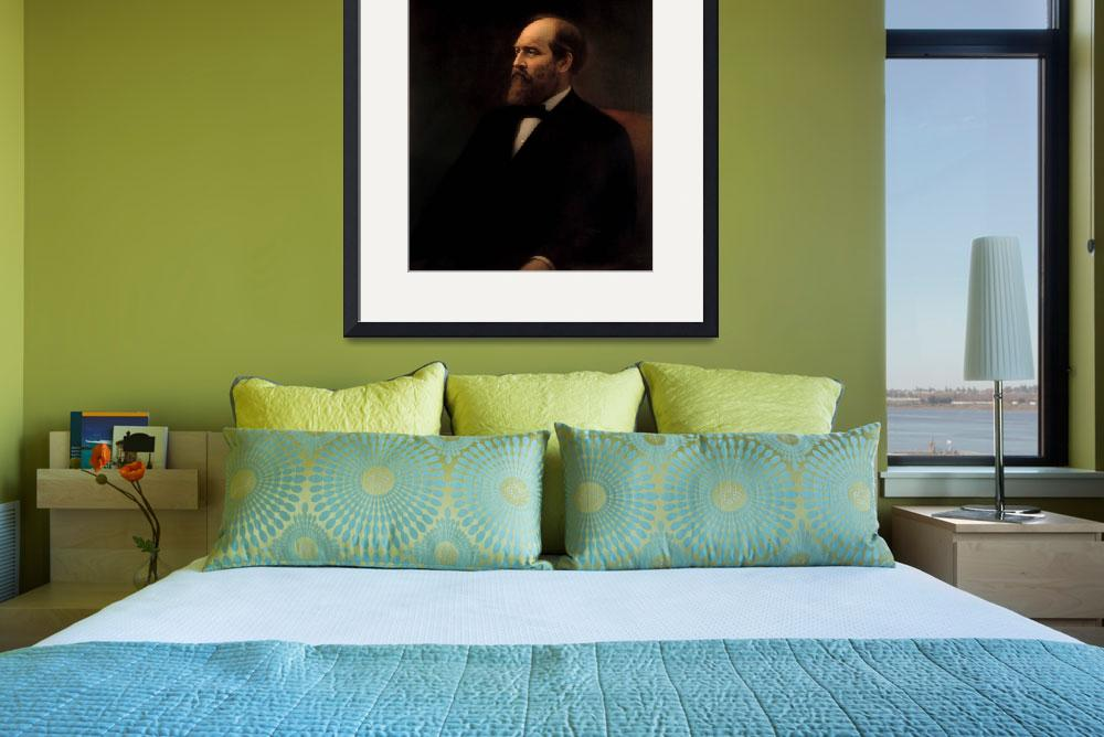 """""""President James Garfield&quot  by motionage"""