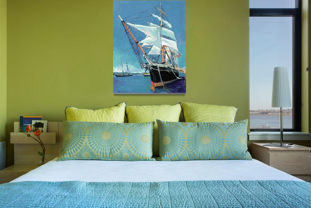 """Tallship Star of India San Diego&quot  (2007) by RDRiccoboni"