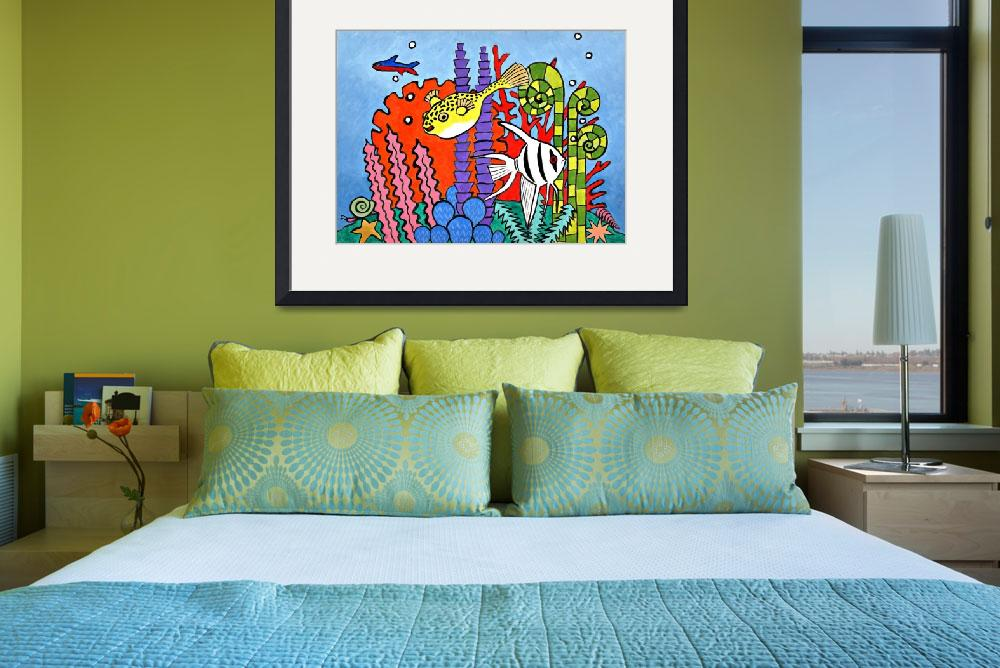 """""""Coral Reef Scene&quot  by dcbaros"""