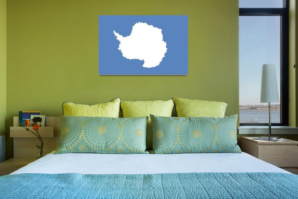 """""""Antarctica flag""""  by tony4urban"""