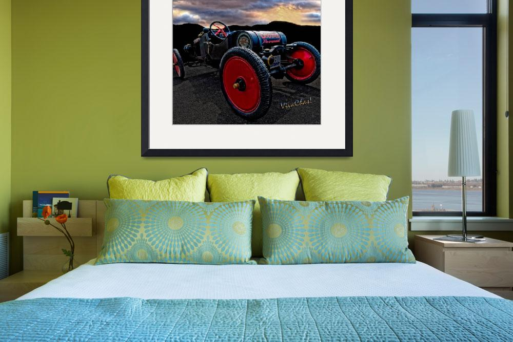 """""""Ford Model T Racer Beat the Storm Home&quot  (2013) by chassinklier"""