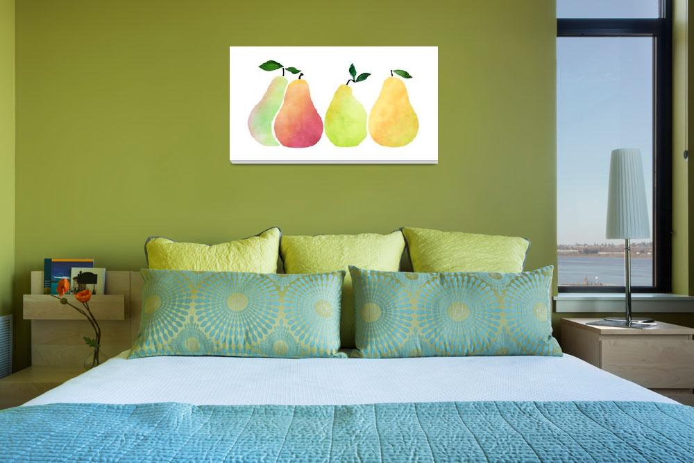 """""""Pears""""  (2018) by moderntropical"""